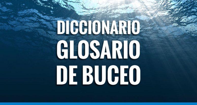 diccionario / glosario de buceo